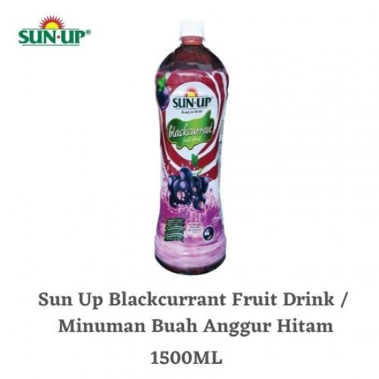 Sun Up 1.5L Blackcurrant Ready-To-Drink Fruit Drink