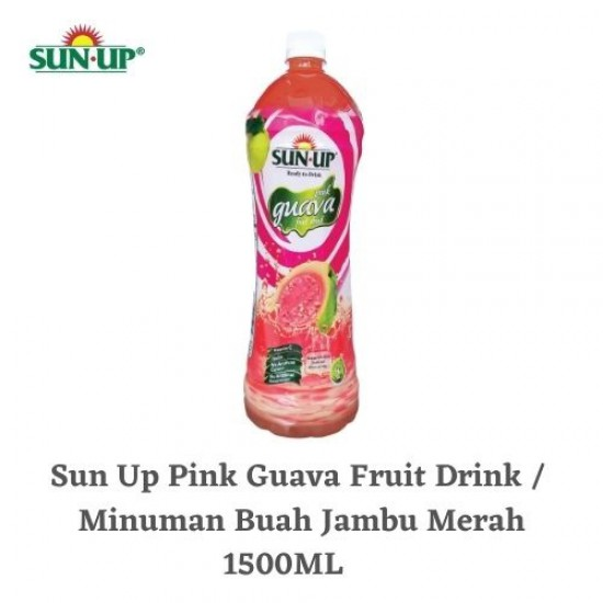 Sun Up 1.5L Pink Guava Ready-To-Drink Fruit Drink