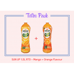 Promo Pack Sun Up 1.5L RTD (Mango And Orange Flavour)