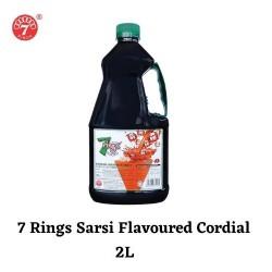 7 Rings 2L Sarsi Flavoured Cordial