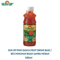 Sun Up 340ml Pink Guava Fruit Drink Base Concentrate