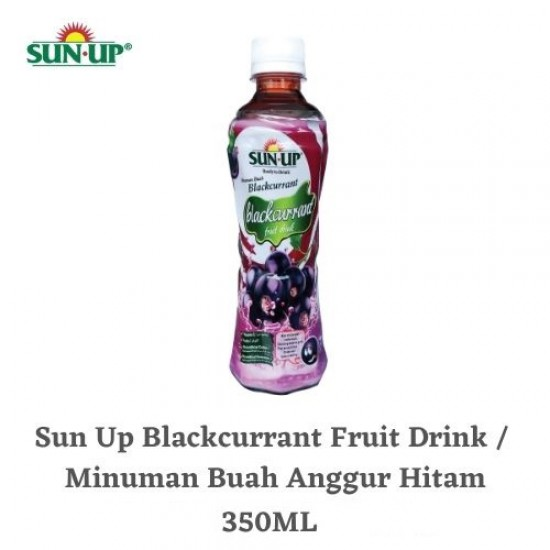Sun Up 350ml Blackcurrant Ready-To-Drink Fruit Drink
