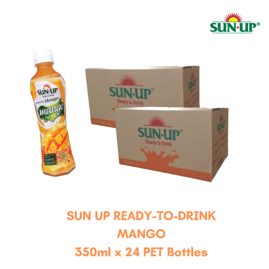 24Bottles SUN UP READY-TO-DRINK Mango Fruit Drink