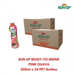 24Bottles SUN UP READY-TO-DRINK Pink Guava Fruit Drink
