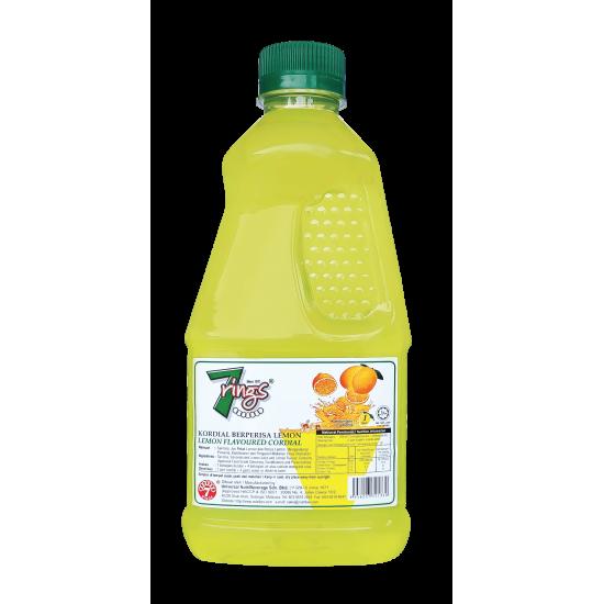 7 Rings 1L- Lemon Flavoured Cordial