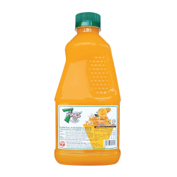 7 Rings 1L Orange Flavoured Cordial