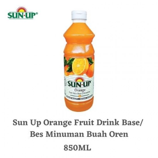 Sun Up 850ml Orange Fruit Drink Base Concentrate (with orange pulp)