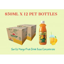 12Bottles Sun Up Mango Fruit Drink Base concentrate