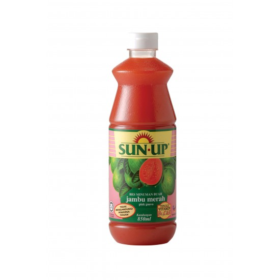 Sun Up 850ml Pink Guava Fruit Drink Base Concentrate