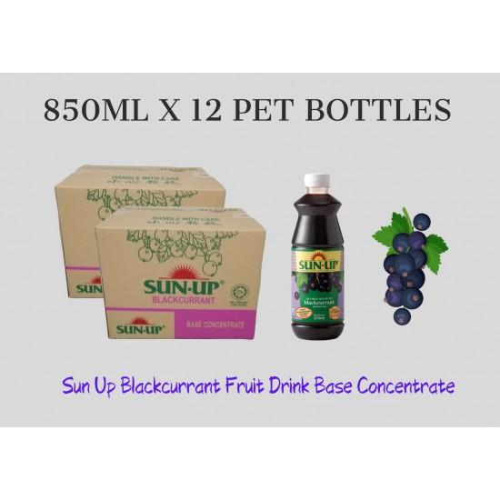 12Bottles Sun Up Blackcurrant Fruit Drink Base concentrate