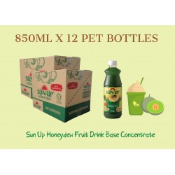 12Bottles Sun Up Honeydew Fruit Drink Base concentrate