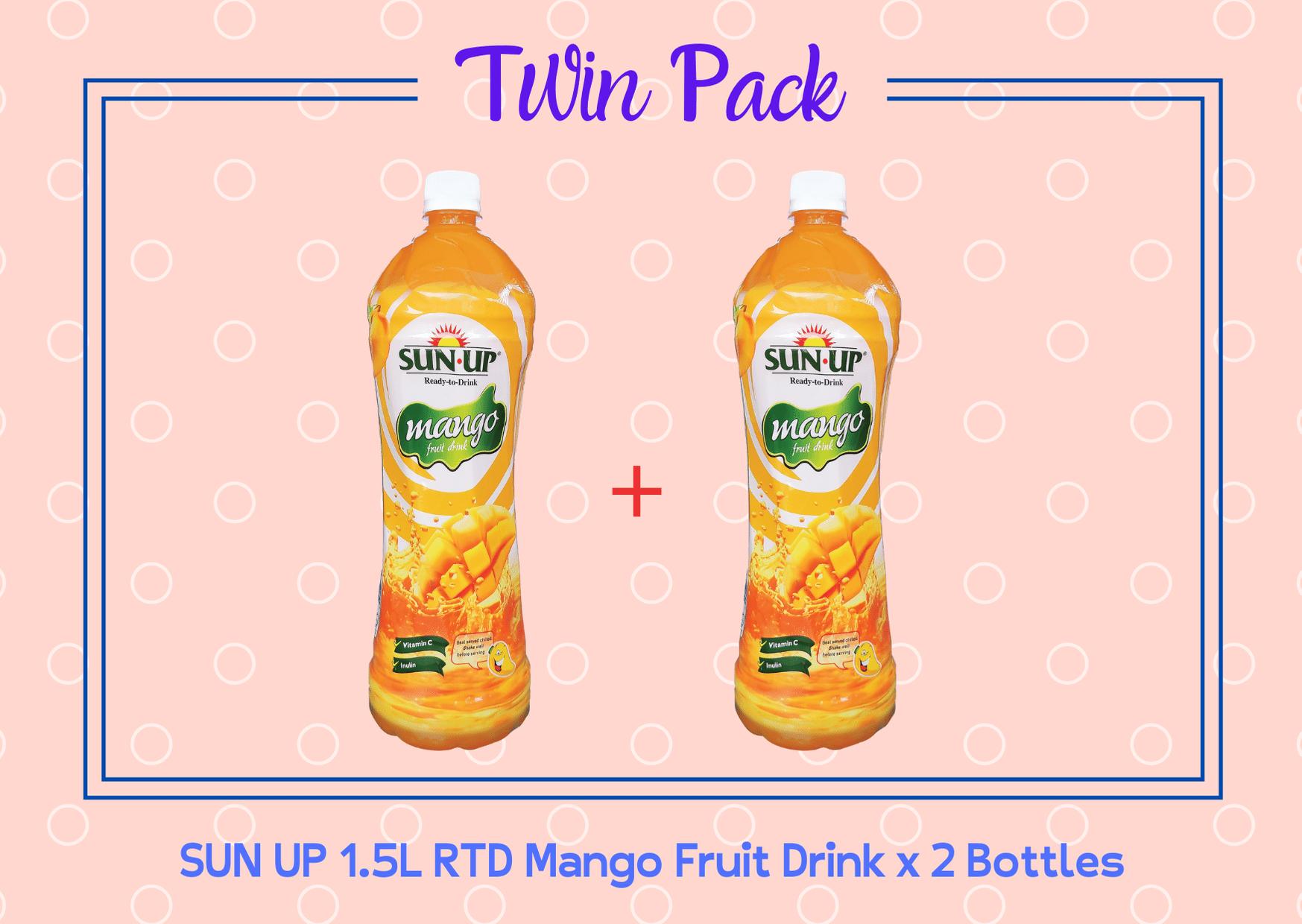 Promo Pack Sun Up 1.5L RTD Mango Fruit Drink